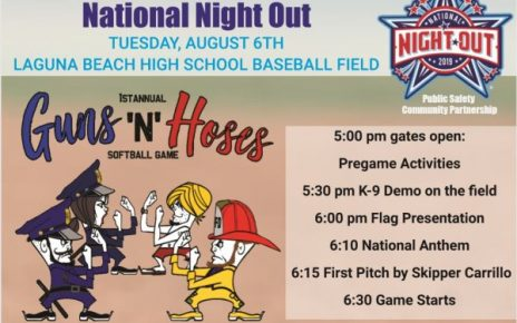 Guns N Hoses National Night Out