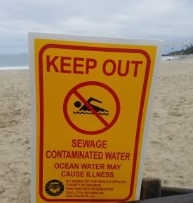 Beaches Temporarily Closed Due to Sanitary Sewer Leak